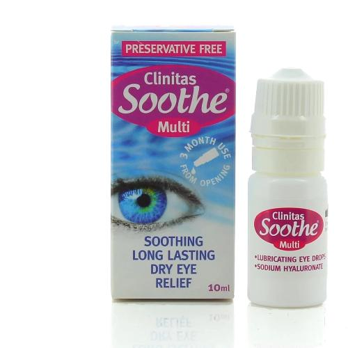 Clinitas Soothe Multi - Eyecare-Shop
