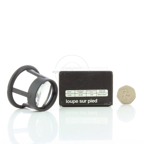 Coil Aspheric Stand Reader with 7X Magnification - Eyecare-Shop