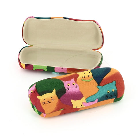 Cartoon Cat Spex Case