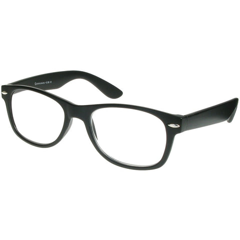 +1.50 Reading Glasses - Unisex - Matt Black - Billi - Eyecare-Shop - 2