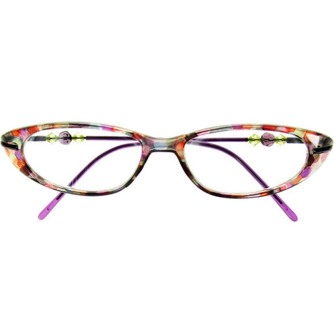 +1.50 Reading Glasses - Womens - Purple - Monroe - Eyecare-Shop - 1