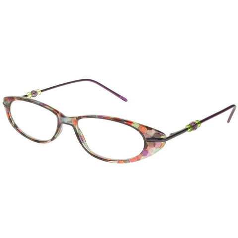 80158cc247f ... Reading Glasses - Womens - Purple - Monroe - Eyecare-Shop - 2