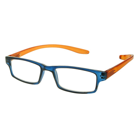 Reading Glasses - Unisex - Neck Specs - Blue & Orange