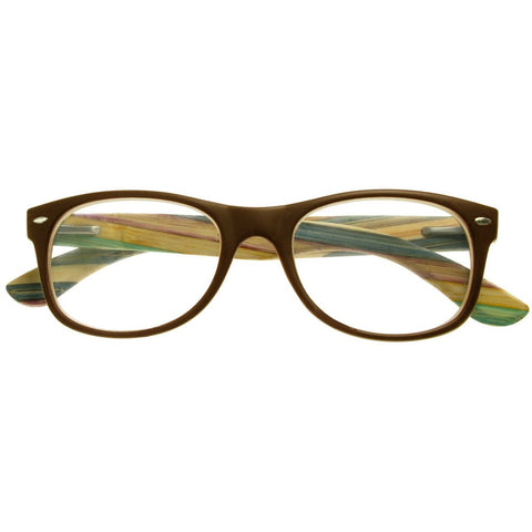 +1.00 Reading Glasses - Unisex - Brown - Hampstead - Eyecare-Shop