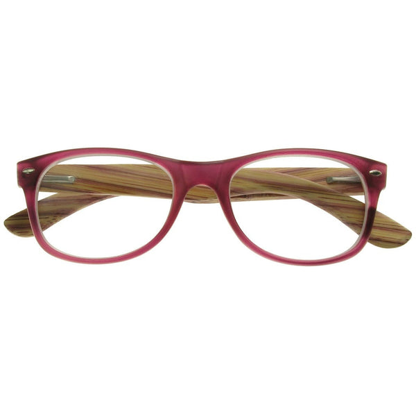 +3.00 Reading Glasses - Womens - Purple - Hampstead - Eyecare-Shop