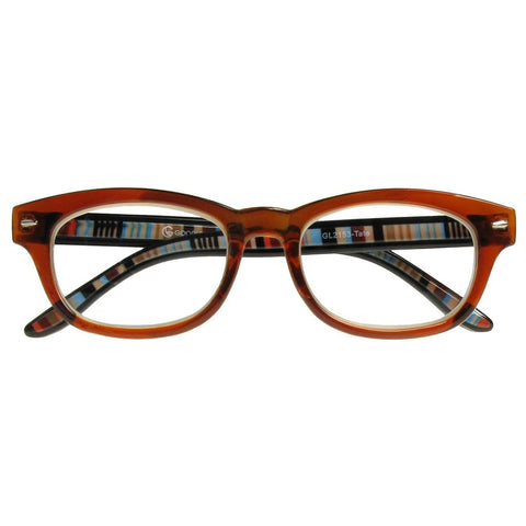 +1.50 Reading Glasses - Unisex - Brown - Tate - Eyecare-Shop - 1