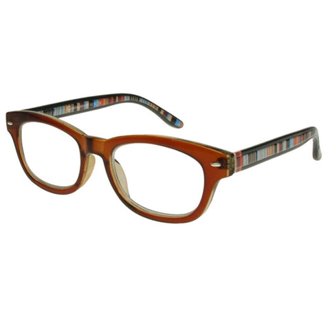 +1.50 Reading Glasses - Unisex - Brown - Tate - Eyecare-Shop - 2