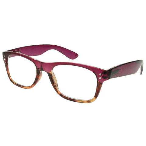 Reading Glasses - Womens - Purple&Tortoise Shell - Chester - Eyecare-Shop - 2