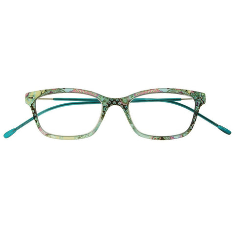 +1.00 Reading Glasses - Womens - Blue - Olivia - Eyecare-Shop - 1