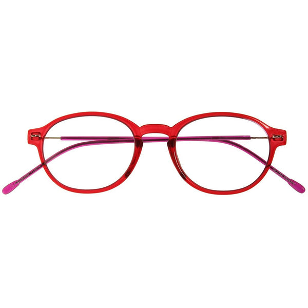 +2.50 Reading Glasses - Unisex - Red&Purple - Weekend - Eyecare-Shop - 1