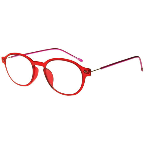 +2.50 Reading Glasses - Unisex - Red&Purple - Weekend - Eyecare-Shop - 2