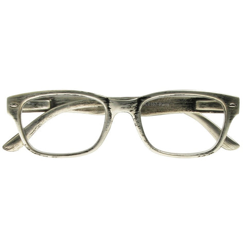 +1.00 Reading Glasses - Unisex - Silver - Paris - Eyecare-Shop - 1