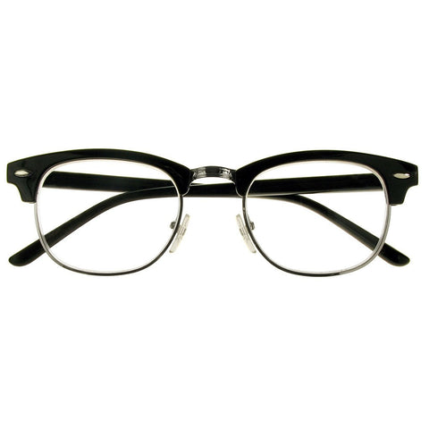 +1.00 Reading Glasses - Unisex - Black - Bromley - Eyecare-Shop - 1