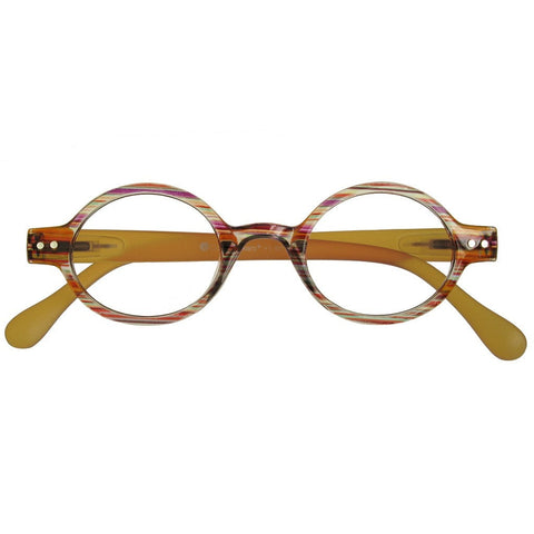 +1.50 Reading Glasses - Unisex -Brown Stripe - Louvre - Eyecare-Shop - 1