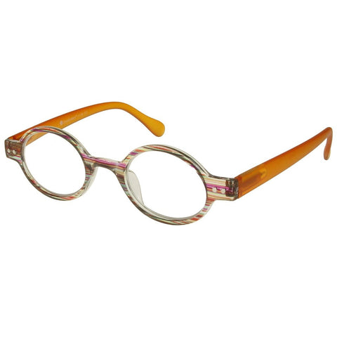 +1.50 Reading Glasses - Unisex -Brown Stripe - Louvre - Eyecare-Shop - 2