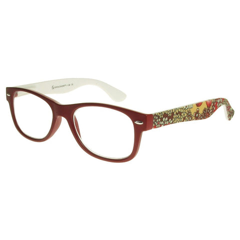 +2.00 Reading Glasses - Womens - Red - Lizzy - Eyecare-Shop - 2