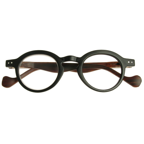 +1.00 Reading Glasses - Unisex - Black - Westminster - Eyecare-Shop - 1