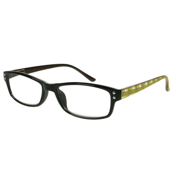 +2.50 Reading Glasses - Unisex - Gold - Vienna - Eyecare-Shop