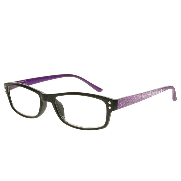 +2.00 Reading Glasses - Womens - Purple - Vienna - Eyecare-Shop