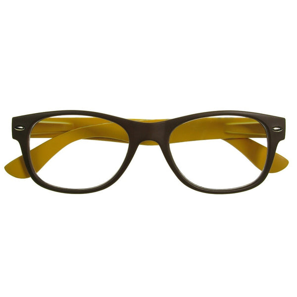 +2.00 Reading Glasses - Unisex - Brown - Mika - Eyecare-Shop - 1