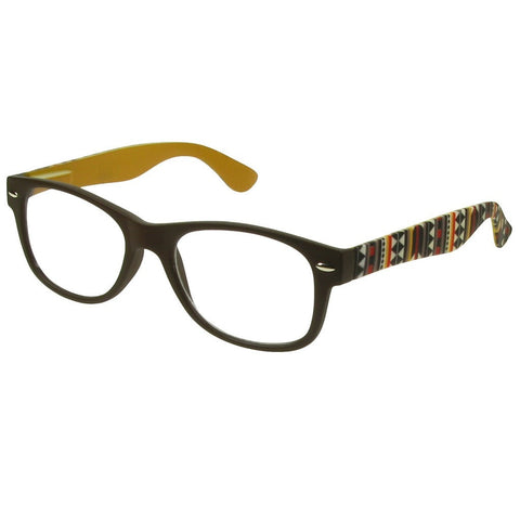 +2.00 Reading Glasses - Unisex - Brown - Mika - Eyecare-Shop - 2