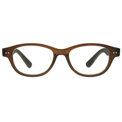 +1.00 Reading Glasses - Unisex - Dark Brown - Rene - Eyecare-Shop - 1