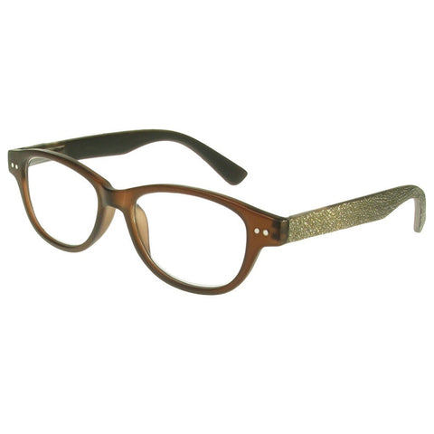 +1.00 Reading Glasses - Unisex - Dark Brown - Rene - Eyecare-Shop - 2