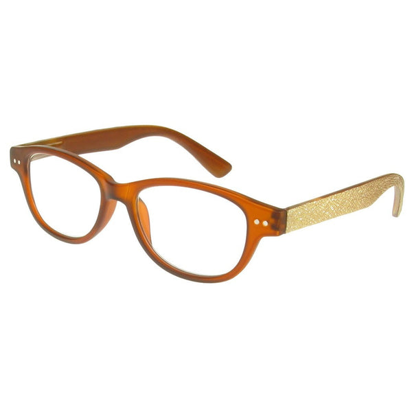 +1.50 Reading Glasses - Unisex -Light Brown - Rene - Eyecare-Shop - 2