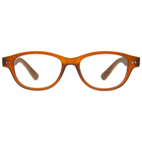 +1.50 Reading Glasses - Unisex -Light Brown - Rene - Eyecare-Shop - 1