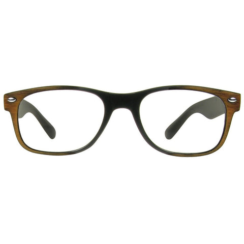 +2.50 Reading Glasses - Unisex - Brown -Jamie - Eyecare-Shop - 1