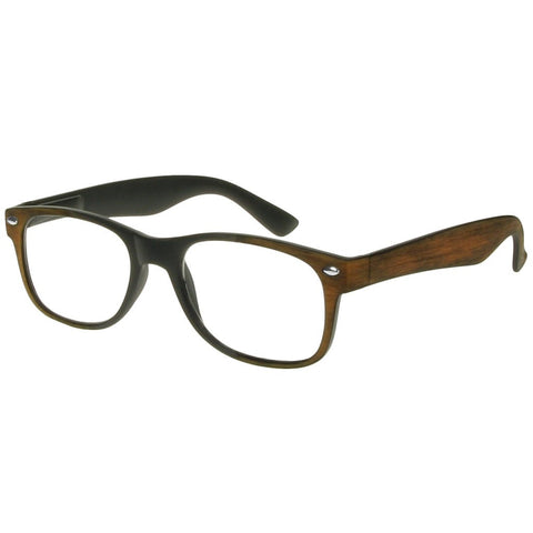 +2.50 Reading Glasses - Unisex - Brown -Jamie - Eyecare-Shop - 2