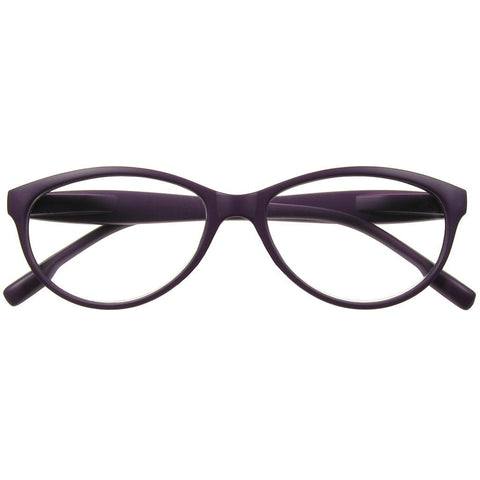 +3.00 Reading Glasses - Unisex -Purple - Diva - Eyecare-Shop - 1