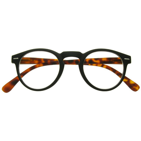 +1.00 Reading Glasses - Unisex -Black&Tortoiseshell - Oxford - Eyecare-Shop - 1