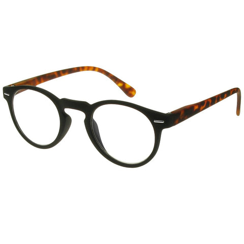 +1.00 Reading Glasses - Unisex -Black&Tortoiseshell - Oxford - Eyecare-Shop - 2