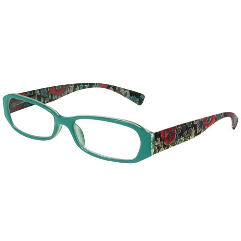 +1.50 Reading Glasses - Womens - Torquoise - Isabelle - Eyecare-Shop