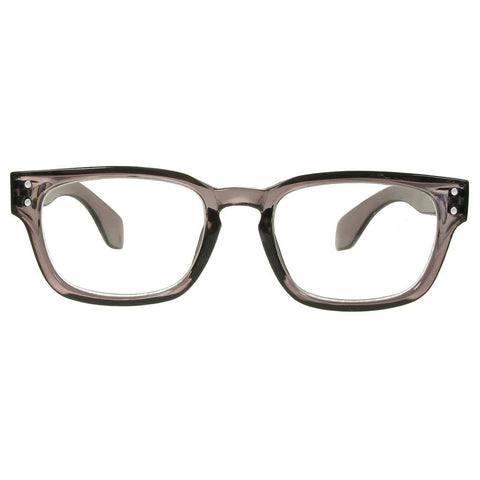 +1.00 Reading Glasses - Unisex - Grey - Bobbie - Eyecare-Shop - 2