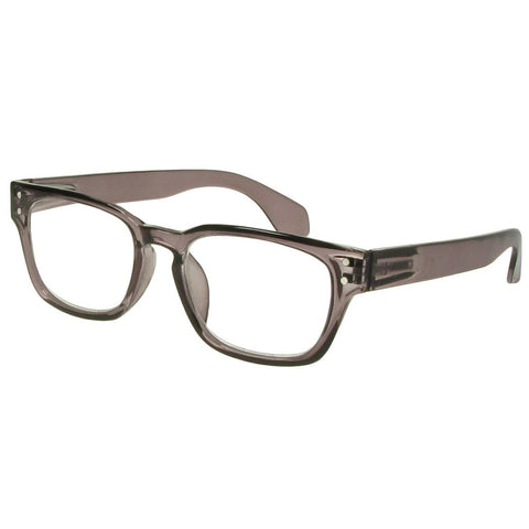 +1.00 Reading Glasses - Unisex - Grey - Bobbie - Eyecare-Shop - 1