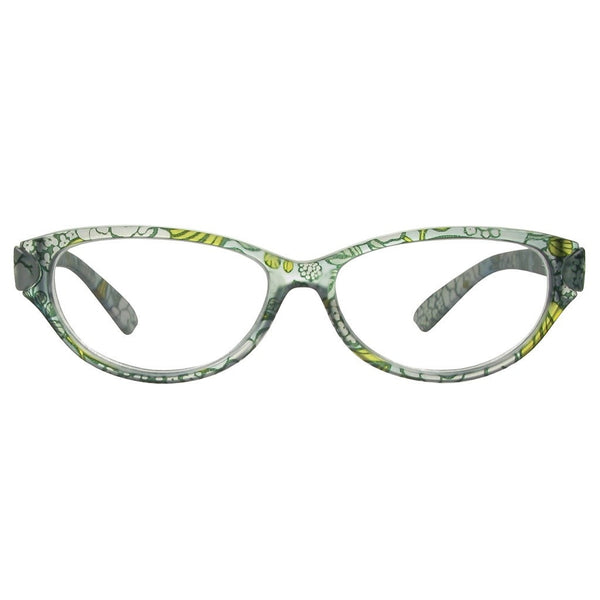 +1.50 Reading Glasses - Womens - Blue Floral - Lulu - Eyecare-Shop - 1