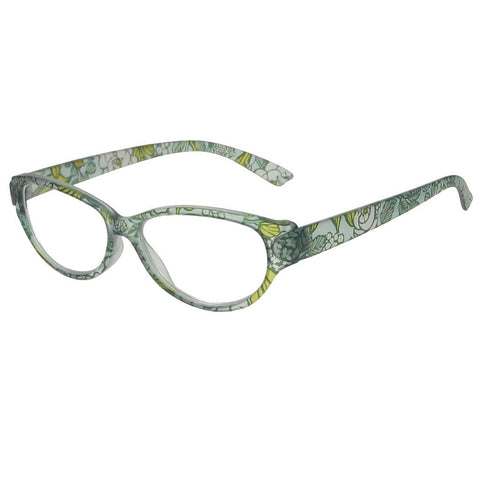 +1.50 Reading Glasses - Womens - Blue Floral - Lulu - Eyecare-Shop - 2