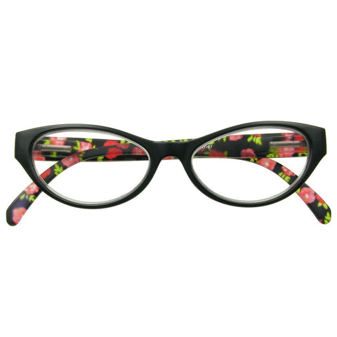 +1.50 Reading Glasses - Womens - Black - Summer - Eyecare-Shop - 1