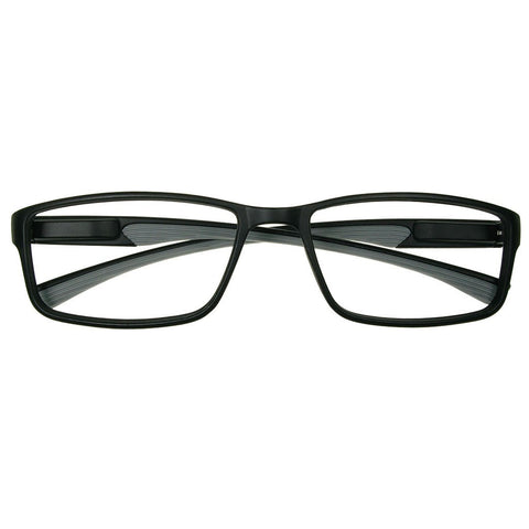+3.00 Reading Glasses - Unisex -Boardroom -Black/Grey - Eyecare-Shop - 1