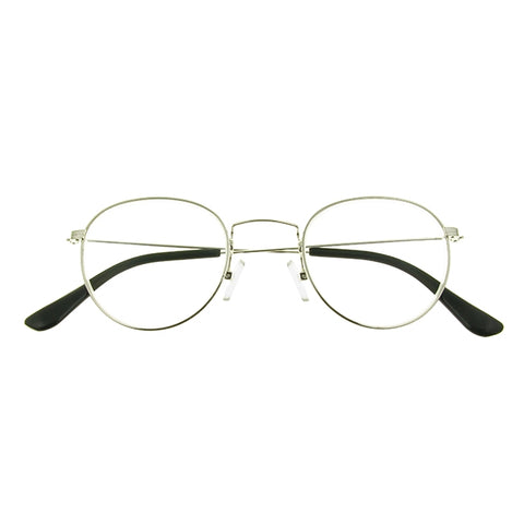 Reading Glasses - Mens - Bakerloo - Silver