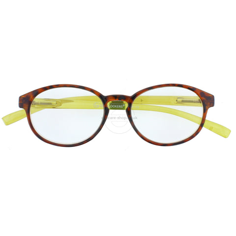 +2.00 Reading Glasses - Unisex - Tortoise Shell&Green-Islington - Eyecare-Shop - 1