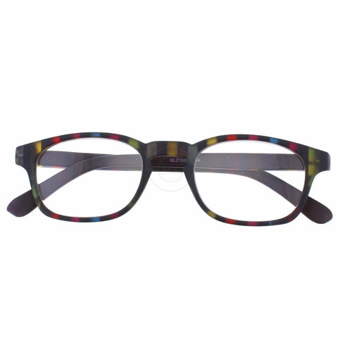 +1.50 Reading Glasses - Unisex - Multi Stripes - Fiesta - Eyecare-Shop