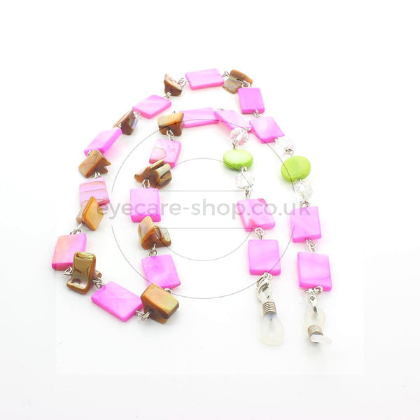 Glasses Chain 'Natural Shell Rectangular' - Eyecare-Shop - 2