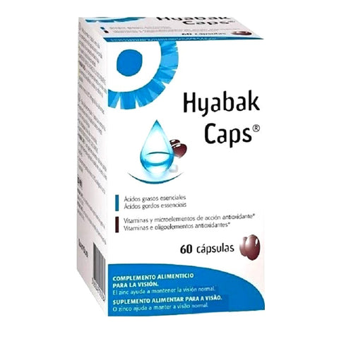 Hyabak Caps - Omega 3 and 6 Oil Capsules