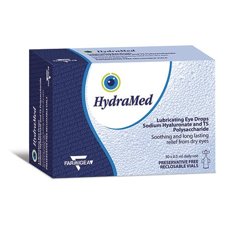 HydraMed Unidose Lubricating Eye Drops with Tamarind Seed *** SALE ** 50% OFF - SHORT EXPIRY NOVEMBER 2020