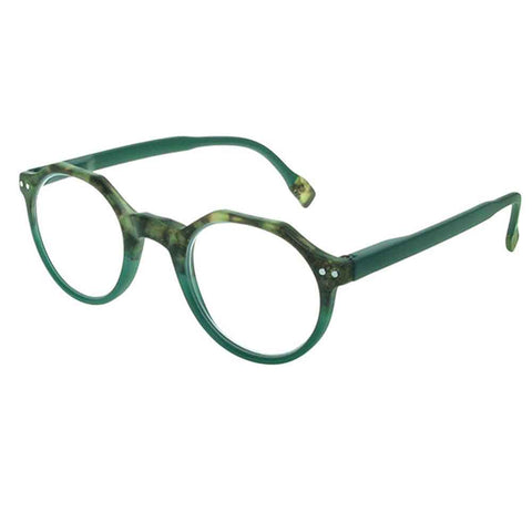 Reading Glasses - Unisex - Keaton - Tortoiseshell / Green