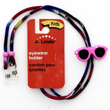 Kids Glasses & Sunglasses  Cord Holder - Cute Novelty designs