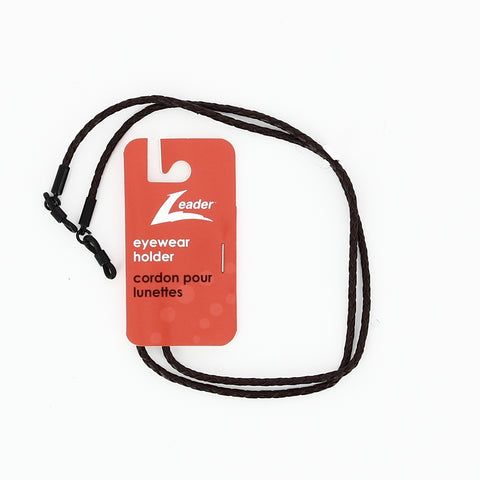 Braided Leather Eyewear Holder by Leader